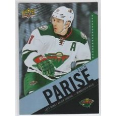 11 Zach Parise Base Set Tim Hortons 2015-2016 Collector's Series