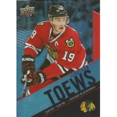 19 Jonathan Toews Base Set Tim Hortons 2015-2016 Collector's Series