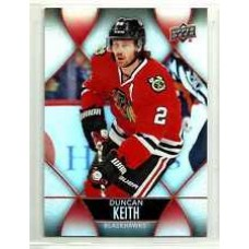 2 Duncan Keith Base Set 2016-17 Tim Hortons