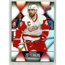 40 Henrik Zetterberg Base Set 2016-17 Tim Hortons