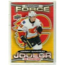 FF-1 Johnny Gaudreau Franchise Force 2016-17 Tim Hortons