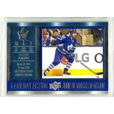GDA-12 Nazem Kadri Game Day Action 2016-17 Tim Hortons