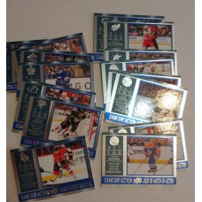 GDA-1-15 Complete Set Game Day Action 2016-17 Tim Hortons