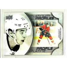 PP-1  Johnny Gaudreau Platinum Profiles 2016-17 Tim Hortons