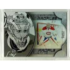 PP-7  Carey Price  Platinum Profiles 2016-17 Tim Hortons