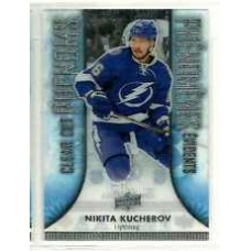 CC-11 Nikita Kucherov Clear Cut Phenoms 2016-17 Tim Hortons