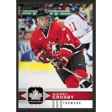 101 Sidney Crosby SP Base Short Prints 2017-18 Canadian Tire Upper Deck Team Canada