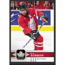 103 P.K. Subban SP Base Short Prints 2017-18 Canadian Tire Upper Deck Team Canada