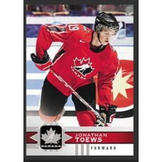 104 Jonathan Toews SP Base Short Prints 2017-18 Canadian Tire Upper Deck Team Canada