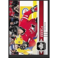 105 Jordan Eberle SP Base Short Prints 2017-18 Canadian Tire Upper Deck Team Canada