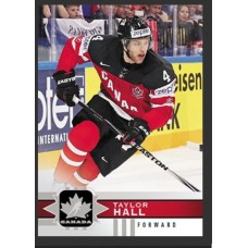 109 Taylor Hall SP Base Short Prints 2017-18 Canadian Tire Upper Deck Team Canada