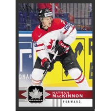 110 Nathan MacKinnon SP Base Short Prints 2017-18 Canadian Tire Upper Deck Team Canada