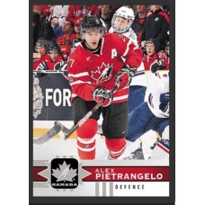 111 Alex Pietrangelo SP Base Short Prints 2017-18 Canadian Tire Upper Deck Team Canada