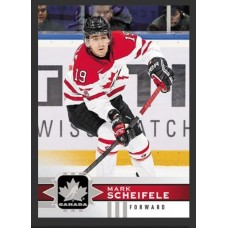 113 Mark Scheifele SP Base Short Prints 2017-18 Canadian Tire Upper Deck Team Canada