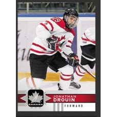 116 Jonathan Drouin SP Base Short Prints 2017-18 Canadian Tire Upper Deck Team Canada