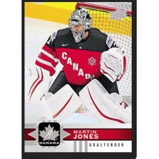 14 Martin Jones Base Set 2017-18 Canadian Tire Upper Deck Team Canada