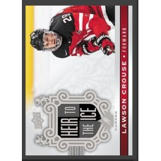 147 Lawson Crouse - Heir to the Ice 2017-18 Canadian Tire Upper Deck Team Canada