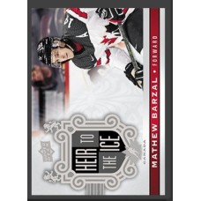 148 Mathew Barzal - Heir to the Ice 2017-18 Canadian Tire Upper Deck Team Canada