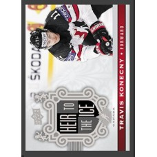 154 Travis Konecny - Heir to the Ice 2017-18 Canadian Tire Upper Deck Team Canada