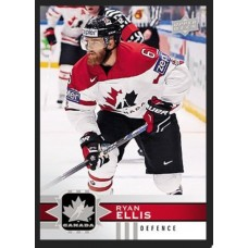 16 Ryan Ellis Base Set 2017-18 Canadian Tire Upper Deck Team Canada