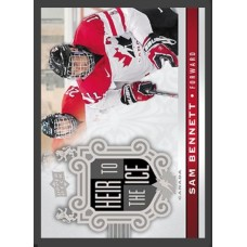 160 Sam Bennett - Heir to the Ice 2017-18 Canadian Tire Upper Deck Team Canada