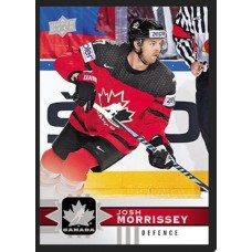 17 Josh Morrissey Base Set 2017-18 Canadian Tire Upper Deck Team Canada