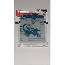 1of1 20 Sidney Crosby Cyan Printing Plate 2017-18 Canadian Tire Upper Deck Team Canada One of One