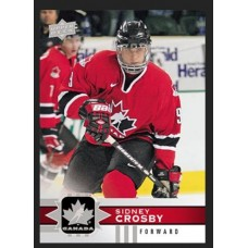 20 Sidney Crosby Base Set 2017-18 Canadian Tire Upper Deck Team Canada