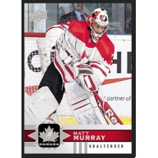5 Matt Murray Base Set 2017-18 Canadian Tire Upper Deck Team Canada