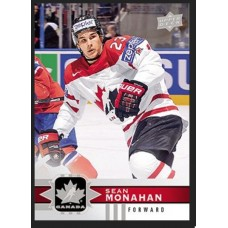 8 Sean Monahan Base Set 2017-18 Canadian Tire Upper Deck Team Canada