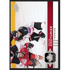 9 Sean Couturier Base Set 2017-18 Canadian Tire Upper Deck Team Canada