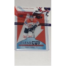 POE-12 Corey Perry Clear Cut Program of Excellence 2017-18 Canadian Tire Upper Deck Team Canada