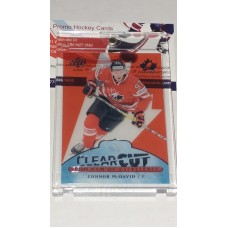 POE-20 Connor McDavid Clear Cut Program of Excellence 2017-18 Canadian Tire Upper Deck Team Canada