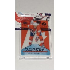 POE-30 Wayne Gretzky Clear Cut Program of Excellence 2017-18 Canadian Tire Upper Deck Team Canada