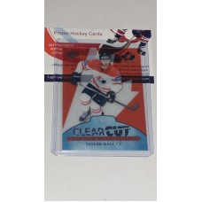 POE-4 Taylor Hall Clear Cut Program of Excellence 2017-18 Canadian Tire Upper Deck Team Canada
