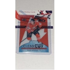 POE-7 Ryan Getzlaf Clear Cut Program of Excellence 2017-18 Canadian Tire Upper Deck Team Canada