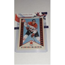 R-1 Connor McDavid Retro O-Pee-Chee OPC 2017-18 Canadian Tire Upper Deck Team Canada