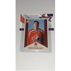 R-9 Patrick Roy Retro O-Pee-Chee OPC 2017-18 Canadian Tire Upper Deck Team Canada