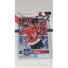 41 Mark Stone UD Exclusives Silver #/100 2017-18 Canadian Tire Upper Deck Team Canada