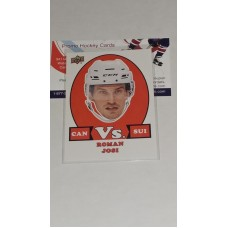 VS-11 Roman Josi - Team Switzerland 2017-18 Canadian Tire Upper Deck Team Canada