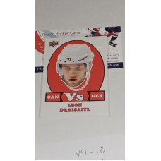 VS-13 Leon Draisaitl - Team Germany 2017-18 Canadian Tire Upper Deck Team Canada