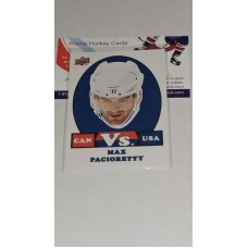 VS-16 Max Pacioretty - Team USA 2017-18 Canadian Tire Upper Deck Team Canada