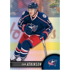 12 Cam Atkinson Base Set 2017-18 Tim Hortons UD Upper Deck