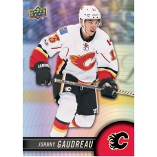 13 Johnny Gaudreau Base Set 2017-18 Tim Hortons UD Upper Deck