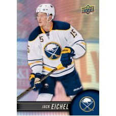 15 Jack Eichel Base Set 2017-18 Tim Hortons UD Upper Deck