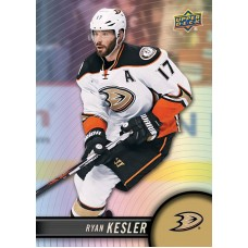 17 Ryan Kesler Base Set 2017-18 Tim Hortons UD Upper Deck