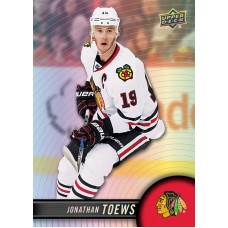 19 Jonathan Toews Base Set 2017-18 Tim Hortons UD Upper Deck