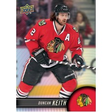 2 Duncan Keith Base Set 2017-18 Tim Hortons UD Upper Deck