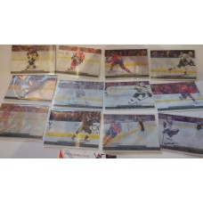 TE1-12 Complete Triple Exposure Insert Set 2017-18 Tim Hortons UD Upper Deck