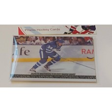 TE-5 Auston Matthews Triple Exposure Insert Set 2017-18 Tim Hortons UD Upper Deck